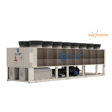SCREWLine³-i air-cooled chiller with invert